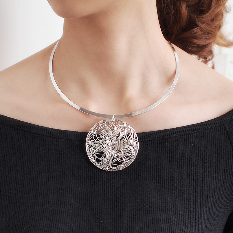 Torques Choker Necklace
